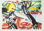 Lichtenstein, Roy - 1990 - Plakat zum Van Gogh Jahr