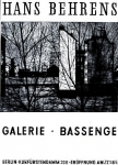 Behrens, Hans - 1965 - Galerie Bassenge Berlin