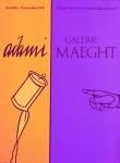 Adami, Valerio - 1976 - Galerie Maeght