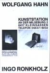 Ronkholz, Ingo - 1985 - Kunststation Kleinsassen