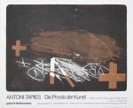 Tàpies, Antoni - 1976 - Galerie Biedermann München