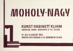 Moholy-Nagy, László - 1956 - Kunstkabinett Klihm München