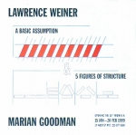 Poster: Weiner, Lawrence - 1999 - Goodman Gallery