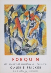 Forquin, Jean-Claude - 1959 - Galerie Fricker Paris