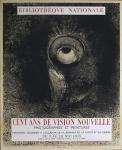 Redon, Odilon - 1955 - (Cent ans de vision nouvelle) Bibliothèque Nationale Paris