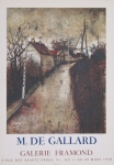 Gallard, Michel de - 1958 - Galerie Framond Paris