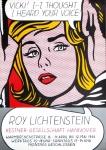 Lichtenstein, Roy - 1968 - (Vicki!) Kestner-Gesellschaft Hannover