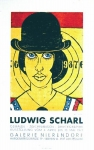 Poster: Scharl, Ludwig - 1977 - (Fun for Men) Galerie Nierendorf