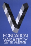 Poster: Vasarely, Victor - o.J. - Fondation Vasarely