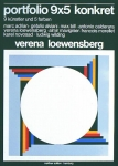 Loewensberg, Verena - 1976 - Portfolio 9x5 konkret Hamburg