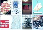 Museumsquartier - 2000 - Serie von 8 Plakaten