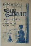 Goeneutte, Norbert - um 1890 - Ècole des Beaux-Arts Paris