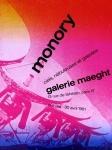 Monory, Jacques - 1981 - Galerie Maeght (ciels, nebuleuses et ga
