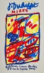 Dubuffet, Jean - 1984 - (Mires) Galerie Bucher