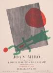 Miró, Joan - 1958 - Galerie Berggruen