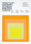 Poster: Albers, Josef - 1973 - Goethehaus New York (German Screen Printer)