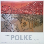 Poster: Polke, Sigmar - 2001 - Louisiana (Schwimmbad)