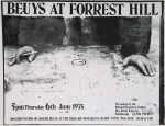 Poster: Beuys, Joseph - 1974 - Richard Demarco Gallery Edinburgh AT FORREST HILL