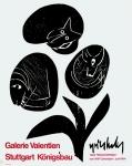 Grieshaber, HAP - 1964 - Galerie Valentien Stuttgart