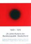 Piene, Otto - 1974 - 25 Jahre Kunst in der BR Deutschland (Motiv schwarze Sonne)