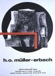 Müller-Erbach, Hans Otto - 1971 - Galerie Schaumann, Essen