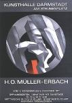 Müller-Erbach, Hans Otto - 1971 - Kunsthalle Darmstadt