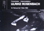 Rosenbach, Ulrike - 1982 - Kunstverein Freiburg