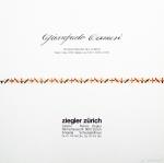 Camesi, Gianfredo - 1979 - Galerie Ziegler, Zürich