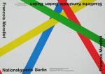 Morellet, Francois - 1977 - Nationalgalerie Berlin / Staatliche Kunsthalle Baden-Baden