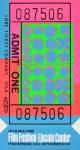Warhol, Andy - 1967 - Fifth New York Film Festival (Ticket)