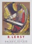 Lersy, Roger - 1958 - Galerie Fricker Paris
