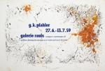 Pfahler, Georg Karl - 1959 - Galerie Rauls Stuttgart