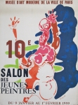 Poster: Rebeyrolle, Paul - 1959 - Musée d'Art Moderne, Paris