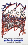 Poster: Riopelle, Jean Paul - 1975 - Galerie Maeght Barcelona