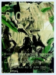 Poster: Riopelle, Jean Paul - 1960 - Galerie Dubourg