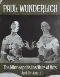 Poster: Wunderlich, Paul - 1970 - Minneapolis Institute of Art