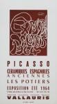 Picasso, Pablo - 1964 - Exposition Vallauris