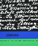 Mavignier, Almir - 1965 - Plakate, Brasilianisches Konsulat, München