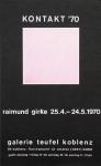 Girke, Raimund - 1970 - Galerie Teufel Koblenz