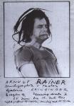 Rainer, Arnulf - 1971 - (Druckgraphik & Photos) Galerie Krinzing