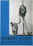 Plakat: Richier, Germaine - 1956 - Musée National D'art Moderne