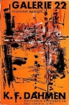 Dahmen, Karl Fred - 1958 - Galerie 22 Düsseldorf