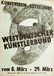 Anonym - 1953 - (Westdeutscher Künstlerbund) Kunstverein Düsseldorf