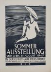 Achterfeld, Friedrich - 1947 - Kunsthalle Düsseldorf (Sommerausstellung BDK)