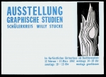 Plakat: Stucke, Willy M. - 1962 - Kurfürstl. Gärtnerhaus Bonn