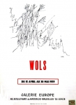 Poster: Wols - 1959 - Galerie Europe