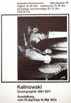 Kalinowski, Horst Egon - 1972 - Kasseler Kunstverein
