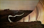 Christo (Javacheff) - 1991 - Running fence
