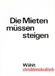 Staeck, Klaus - 1972 - Die Mieten...