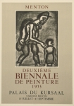 Poster: Rouault, Georges - 1953 - Menton